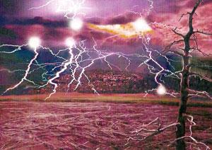 Чертово Игрище, Медведицкая гряда и Склон бешенных молний
