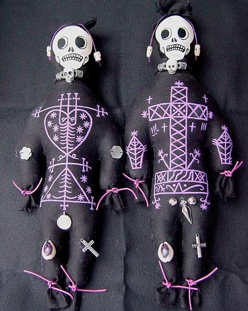 Как сделать дома куклу вуду